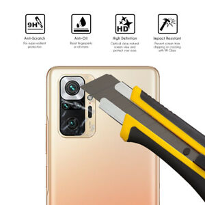 Protector Cristal Templado lente camara Xiaomi Redmi Note 10 Pro / Pro Max