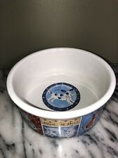 Pet Bowl Signature Stoneware ~ Large Dog Bowl ~RIVIERA VAN BEERS