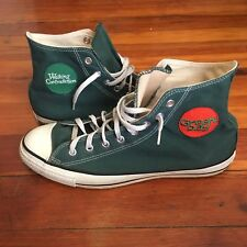 RARE VTG 90s Made In USA Converse Green Day Special Addition Shoes Size 12