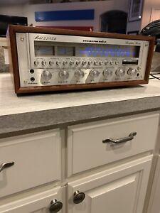 Vintage Marantz 2285B Receiver w/ Wooden Case
