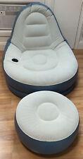 Ultra Lounge Inflatable Chair & Ottoman Set