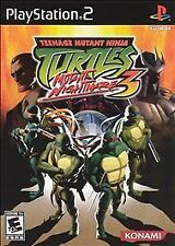 Teenage Mutant Ninja Turtles 3: Mutant Nightmare PS2 Sony PlayStation 2, 2005