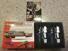 DR WU TP-07 COURAGEOUS Blue Weapon Kit For Transformers prime Arcee