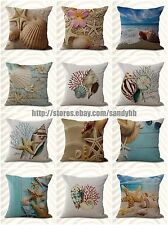 US Seller-10pcs cushion covers beach seaside dining chair wholesale