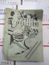 atari pole position 2 arcade manual