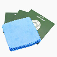 10x Silver Polishing Cloth Cleaner Jewelery Cleaning Cloth Anti-Tarnish Tool JR