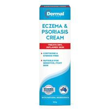 DERMAL THERAPY ECZEMA & PSORIASIS CREAM 50G TREATS DRY INFLAMED SKIN NATURAL