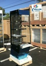 New Open Air Grab And Go Warmer Display Case 3 Shelf Hot Food Pizza Snack