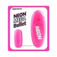 Vibrating Love Egg - Neon Bullet Pink - Free Fast Shipping