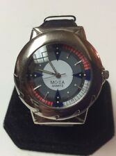 Collectible Mosa mens watch,very colorful dial,light wear/use,nice watch    M942