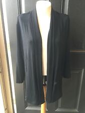New Soldout Chico's Travelers Black Essential Jacket Pockets Sz 3 = XL 16/18 NWT