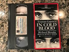 In Cold Blood Vhs! 1967 Crime Drama! (See) In The Heat Of The Night