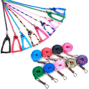 Pets Dog Harnesses Safety Puppy Leashes Walking Lead Dog Cat Nylon Rope Collar