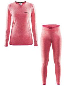 CRAFT Active Comfort Set Da ,Biancheria Intima Donna,Parte Superiore Inferiore,