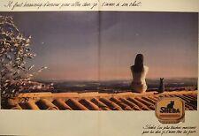PUBLICITÉ 1995 SHEBA DUO AU FOIE ET A LA VOLAILLE - CHAT - ADVERTISING