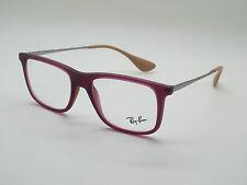 36b279c2fd Anuncio nuevoNuevo Auténtico Ray Ban Rb 7054 5526 Mate Violeta 51mm Rx  Eyeglasses
