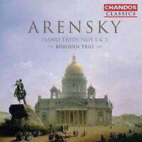 Borodin Trio - Arensky: Piano Trios Nos. 1 and 2 [CD]