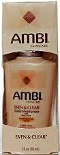 Ambi Skin Care Even and Clear Daily Moisturizer w/ SPF 30 Sunscreen 3oz. 06/2018
