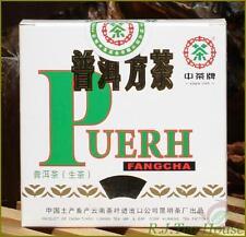 2011*Pu-erh Tea*CNNP Zhong Cha Brand Puerh Fangcha Raw Brick-100g Free Shipping