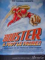 PUBLICITÉ 1995 BNP PARIBAS PRÉSENTE BOOSTER IL PEUT LE FAIRE - ADVERTISING