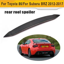 Carbon Fiber Car Rear Roof Spoiler Wing Fit For Toyota 86 Subaru BRZ 2012-2017