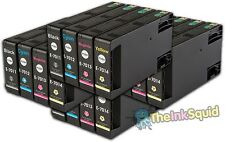 16 T701 non-OEM Ink Cartridges For Epson WorkForce Pro WP-4525DNF WP-4535DWF