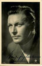 Heinz Engelmann Ross A 3357/1 signiert, Autogramm