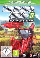 Landwirtschafts Simulator 17 2017 Platinum - Edition PC NEU
