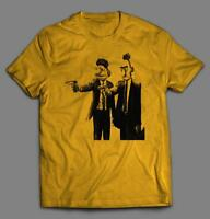 SESAME STREET PULP FICTION PARODY INSPIRED ~ OLDSKOOL ART SHIRT *MANY OPTIONS*