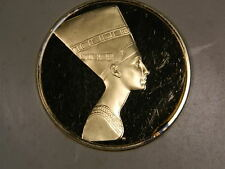 """""""Queen Nefertiti"""" 100 Greatest Masterpieces Franklin mint solid sterling silver"""