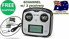 Turnigy TGY-i6S Digital Transmitter AFHDS Radio 6CH w/ Receiver Mode 1 RC Plane