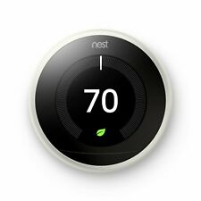 Google Nest Learning Thermostat 3rd Generation - White | Brand New