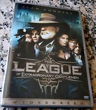 LEAGUE OF EXTRAORDINARY GENTLEMEN RARE WS DVD Sean Connery 12 Deleted Scenes