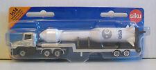 SIKU 1614 Miniature LOW LOADER 15cm Long + ROCKET 12cm - Diecast & Plastic Parts