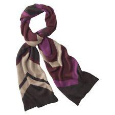 Missoni for Target Men's Knit Scarf Purple Chevron 84x12 Wool/Acrylic NWT