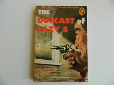 The Outcasts of Lazy S by Eli Colter , Handi-Book #95, Western 1949