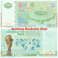 Rare One piece of Brazil World Cup Banknote/ Paper Money/ UNC s