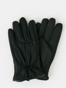 Polo Ralph Lauren Mens Gloves Black Thinsulate Touch Screen Compatible