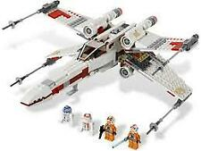 LEGO Star Wars X-wing Starfighter (9493) includes minifigures Rare & Retired set