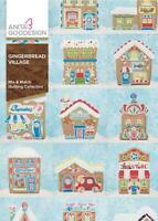 Gingerbread Village Anita Goodesign Embroidery Machine Designs CD