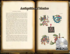 Antiquities of Mexico 9 Volume set -ancient Mexican paintings,hieroglyphics-1831