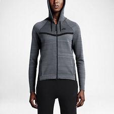 Nike Womens Tech Knit Windrunner Jacket Grey Size M L XL 728683 043
