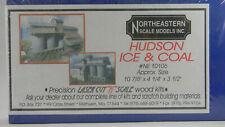 NEW N Northeastern Scale Models #10106 Hudson Ice & Coal Kit
