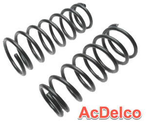 2 Coil Springs ACDelco Pro Rear Premium Variable Rate Replace OEM # 88913828