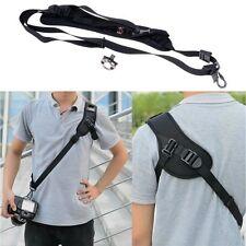 Reise Profi Kamera Tragband Sicherheit Schulterband Gürtel Für Canon DSLR Nikon