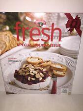 "HANNAFORD ""Fresh"" Magazine Nov/Dec Holiday 2012 Thanksgiving Hanukkah"
