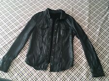 All Saints leather shirt / Jacket  Size UK 10