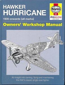 Hawker Hurricane 1935 onwards (all marks) Owners' Workshop Manual - softback-New