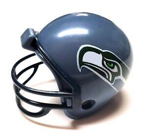 "SEATTLE SEAHAWKS NFL HELMET 2"" ROUND MINI V4 GUMBALL 2010 SEALED IN CAPSULE"