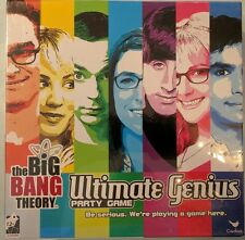 The Big Bang Theory Game Ultimate Genius Party Cardinal New Sealed Sheldon Penny
